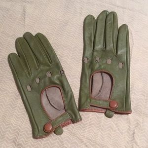 Accessories - Leather Driving Gloves. Sz L